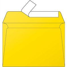 Enveloppes jaune soleil C6 Pollen Clairefontaine par 5 #enveloppejaune #enveloppecouleur #enveloppepollen #enveloppefairepart