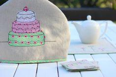 Tea Cosy, Coasters and Place Mat Set | Felt