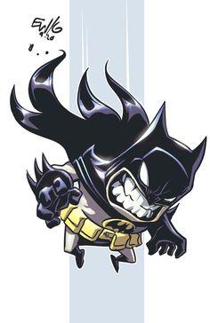 Batman Chibi by EryckWebbGraphics