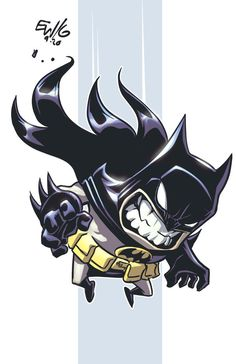 Batman Chibi by EryckWebbGraphics on DeviantArt