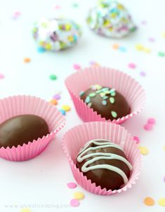 DIY Chocolate Easter Eggs