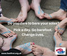 This summer, take the Barefoot Challenge and raise money to help people affected by leprosy in Mozambique!  Find out more and sign up: www.feetfirst.org.uk