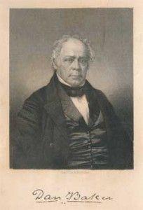 Rev. Dr. Daniel Baker [17 August 1791 - 10 December 1857]
