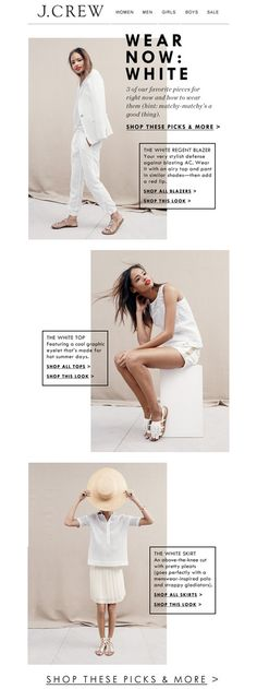 wear now: white