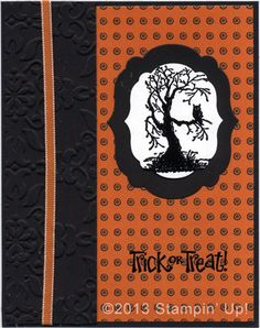 Stampin' Up! Cards - Best of Halloween