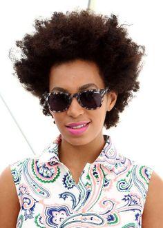 8edb7fb0c3a Solange Knowles wearing Carrera Love the hair