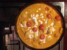 [Homemade] Thai Yellow Chicken Curry http://ift.tt/2kAOYAM