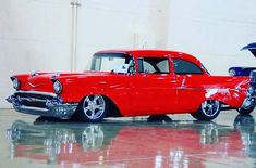 Classic Hot Rod, Classic Cars, Vintage Cars, Antique Cars, 57 Chevy Bel Air, Gm Car, Old School Cars, Chevrolet Bel Air, Hot Cars