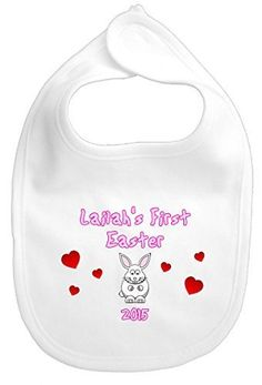 1st easter 2017 personalised embroidered baby bib chick by maisie moo gifts limited personalised baby girl boy bunny rabbit 1st first easter gift negle Choice Image
