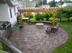Patios can also complement decks