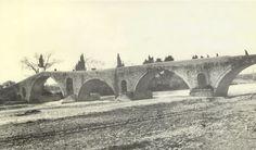 Το γεφύρι της  Άρτας, 1910 (Φωτογραφικό Αρχείο Εθνικού Ιστορικού Μουσείου)