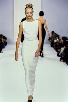 Calvin Klein Collection Fall 1995 Ready-to-Wear Fashion Show - Jodie Kidd