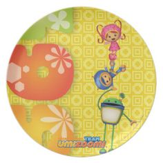 Group Stacked Dinner Plate | Team Umizoomi