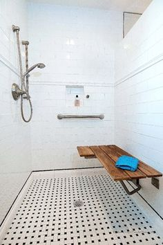 Bathroom ideas on pinterest showers shower designs and for Bathroom designs elderly