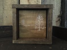 Primitive Decor - Rustic Decor - Engraved Art - Gift For Art Lovers - Gifts For…