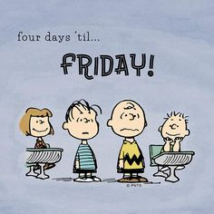 Peanuts and Friday