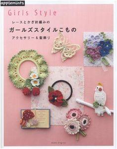 Muchos libros lindos de crochet para ver directamente *,* - Excelente pagina
