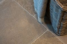 The Hurlingham Light is a pale grey limestone floor with abundant quartz & fossil detailing. It has a large iron oxide content which gives many of the tiles a 'beige' hue. Flagstone Flooring, Limestone Flooring, Natural Stone Flooring, Honey Colour, Iron Oxide, Natural Stones, Blue Grey, Tile Floor, Tiles