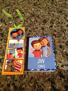 Caleb and Sophia party favors - use mini notebooks from Dollar Store.