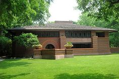 "Frank Lloyd Wright's ""Heurtly House"".  One of his earlier works...beautiful!"