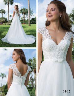 Divina Bridal - Kolekcja 2016 Sweetheart, suknia ślubna 6107