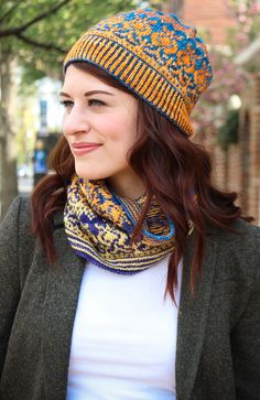 ISSUEdf16 ** Gift of Thistle : Knitty.com - Deep Fall 2016