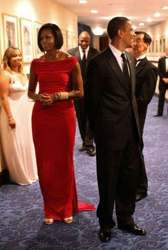 1st Lady Michelle Obama & President Barak Obama...