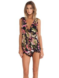 Lovers + Friends Can't Let Go Romper