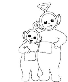 teletubbies tinky winky coloring pages | 1000+ images about تلوين رسوم متحركه on Pinterest