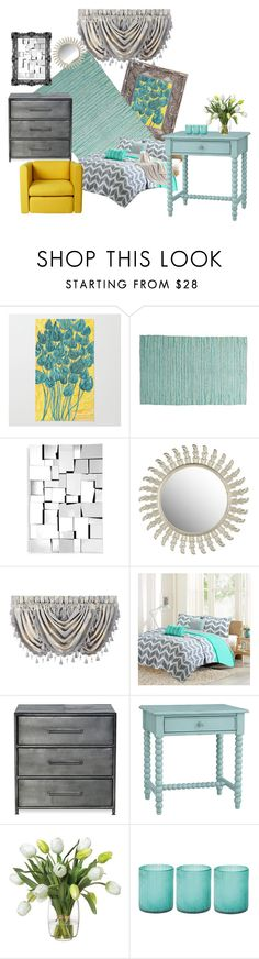 """""""Sophisticated Dreamer"""" by jackie-o-ver-fifty on Polyvore featuring interior, interiors, interior design, home, home decor, interior decorating, Zuo, Safavieh, J. Queen New York and Intelligent Design"""