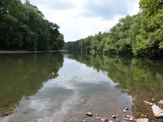 Schuylkill River in Valley Forge National Historical Park