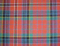 Reiver Tartans : Clan Macpherson Ancient Red