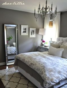 For The Master Bedroom Dear Lillie: Some Finishing Touches To Our Gray  Guest Bedroom