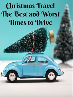 Prepare for your Christmas travel plans by noting the best and worst times to drive.