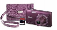 Nikon COOLPIX S5200 Wi-Fi CMOS Digital Camera with 6x Zoom Lens (Plum) | My Canon Digital Camera