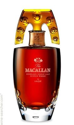 The Macallan Lalique 55 Year Old Single Malt Scotch Whisky, Speyside…
