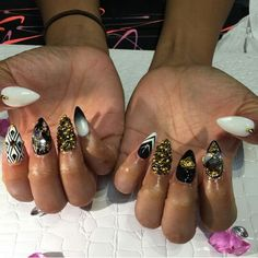 Apryl jones new nails