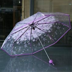 Colorido Cloudy Pattern Automatic Umbrella Outdoor Foldable Rain Sunlight Umbrella Travel Parasol Blue