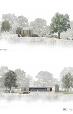 Image 17 of 17 from gallery of The Quest / Strom Architects. Elevations Image 17 of 17 from gallery of The Quest / Strom Architects. Coupes Architecture, Collage Architecture, Architecture Presentation Board, Landscape Architecture Design, Architecture Visualization, Architecture Graphics, Architecture Board, Architecture Drawings, Sections Architecture