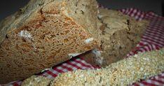 Έτοιμο και το ψωμάκι μας. Πολύ, πολύ υγιεινό, αλλά και θρεπτικό. Πλούσιο σε φυτικές ίνες. Φτιάχνετε πολύ εύκο... Bread, Blog, Brot, Blogging, Baking, Breads, Buns