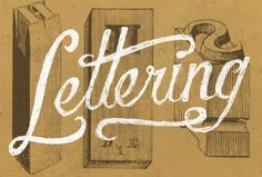 """Do you know the difference between """"Lettering"""" and """"Typography?"""" Great read on understanding the history and different terminologies behind typography and lettering. http://www.smashingmagazine.com/2013/01/17/understanding-difference-between-type-and-lettering/"""