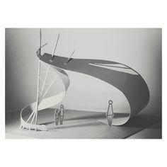 nexttoparchitects: by laksminii Folding Architecture, Maquette Architecture, Concept Architecture, Landscape Architecture, Interior Architecture, Tectonic Architecture, Kinetic Architecture, Black Architecture, Architecture Models