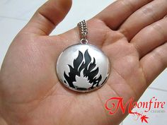 DIVERGENT Dauntless Faction Symbol Necklace