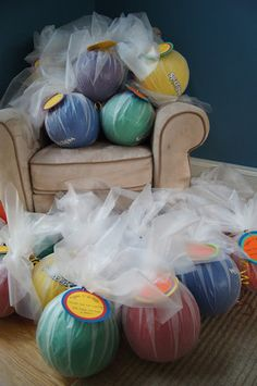 Have a Ball party favors
