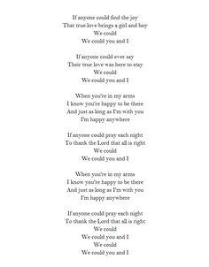 We could.  ~ John Prine