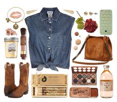 A fashion look from August 2015 featuring cropped shirts, brown leather boots and bangle bracelet. Browse and shop related looks. Brown Leather Boots, Alex And Ani, Crop Shirt, Jean Paul Gaultier, Nyx, Bobbi Brown, Tory Burch, Fashion Looks, Cosmetics