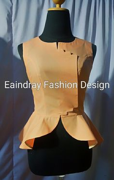 Myanmar sleeveless blouse
