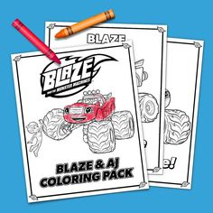 Blaze Coloring Pages - Free Printables in PDF