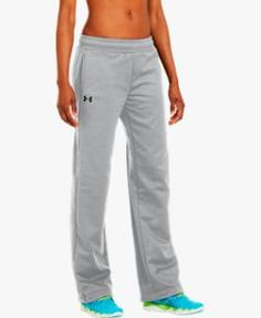 Women s Armour® Fleece Team Pants for warmups Coach Outfits 0b5097dde00f