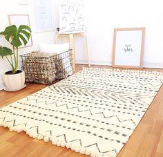 Tribu scandinave tapis tapis nordique décoration par COLASHOME